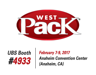 United Barcode Systems is official exhibitor at Westpack 2017 (Anaheim, CA)