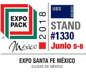 United Barcode Systems é expositor oficial da Expo Pack Mexico 2018 (Santa Fe. Cidade do México)